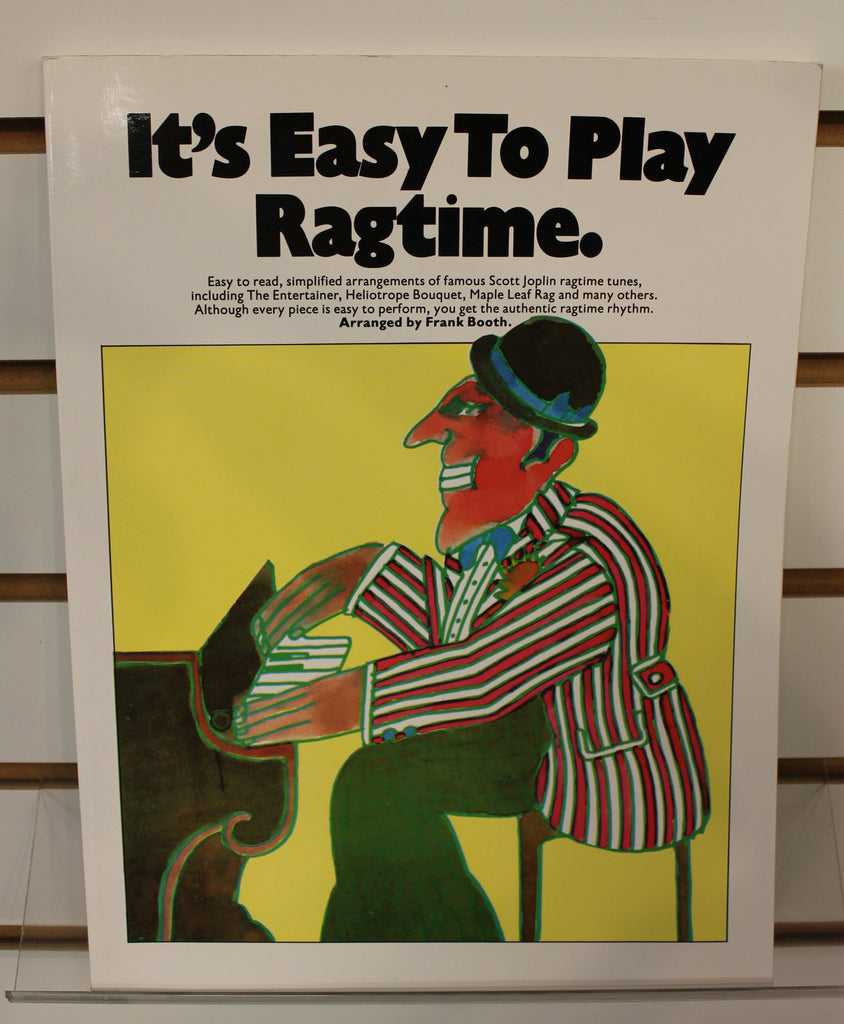 Its Easy To Play Ragtime Pianovocalguitar Songbook Dr Guitar Music