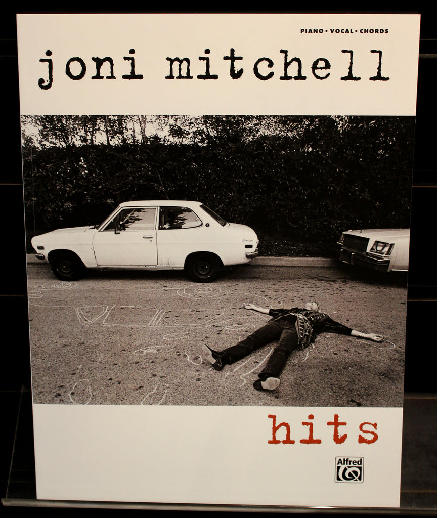 Joni Mitchell Hits Pianovocalchords Guitar Songbook Dr Guitar