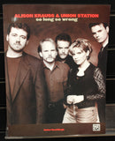 Alison Krauss & Union Station: So Long So Wrong Guitar/Banjo/Vocal Songbook - Dr. Guitar Music, Watertown, NY 315-782-3604