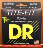 DR Strings Tite-Fit Nickel Plated Round Core Electric Guitar Strings - Dr. Guitar Music - 4