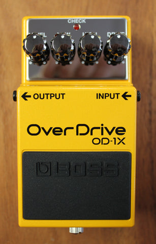 Boss OD-1X Overdrive Special Edition Guitar Effects Pedal - Dr. Guitar Music