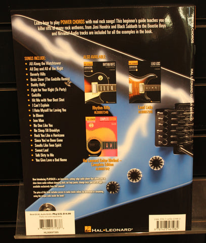 Power Chords: Beginner\'s Guide with 20 Killer Rock Riffs Softcover ...