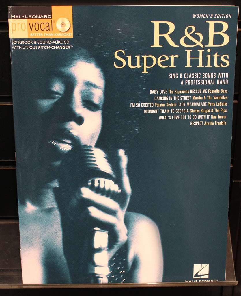Rb Super Hits Pro Vocal Womens Edition Volume 7 Softcover Wcd