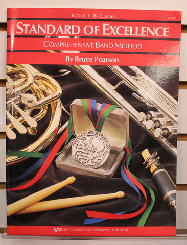 Standard of Excellence Book 1 - B♭ Clarinet Band Method Book