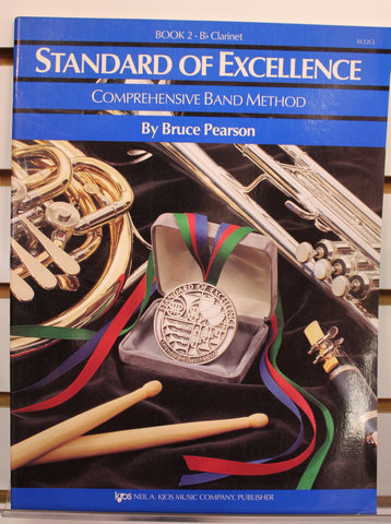 Standard of Excellence Book 2 - Clarinet Band Method Book