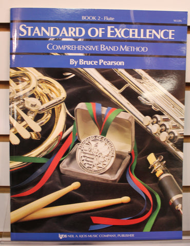 Standard of Excellence Book 2 - Flute Band Method Book