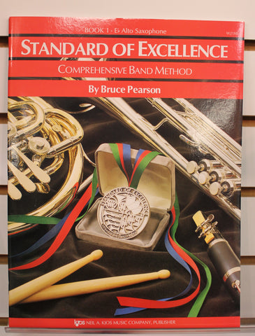Standard of Excellence Book 1 - E♭ Alto Saxophone Band Method Book