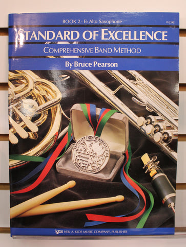 Standard of Excellence Book 2 - Eb Alto Saxophone Band Method Book