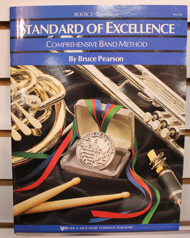 Standard of Excellence Book 2 - Trombone Band Method Book