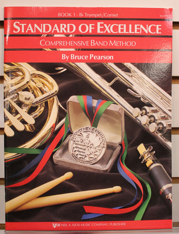 Standard of Excellence Book 1 - B♭ Trumpet/Cornet Band Method Book
