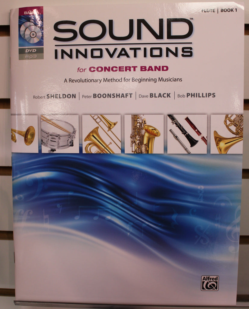 Sound Innovations for Concert Band, Book 1 Flute w/CD/DVD