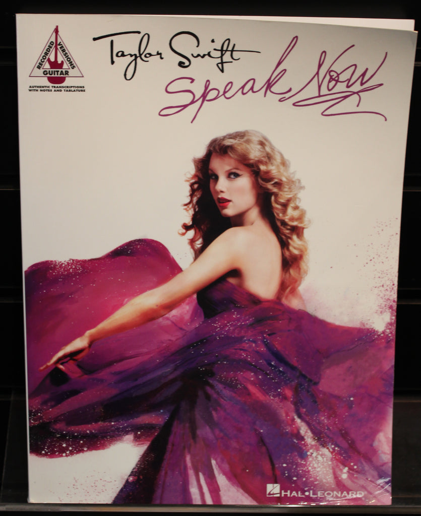 Taylor Swift Speak Now Guitar Recorded Versions Softcover Tab