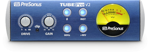 PreSonus TubePre V2 Single-Channel Tube Preamplifier/DI Box - Dr. Guitar Music, Watertown, NY 315-782-3604