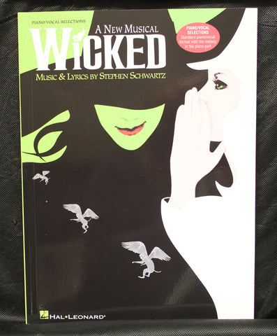 Wicked A New Musical – Piano/Vocal Selections (Melody in the Piano Part) Songbook