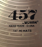 "Wuhan 457 Series 14"" Hi-Hats"