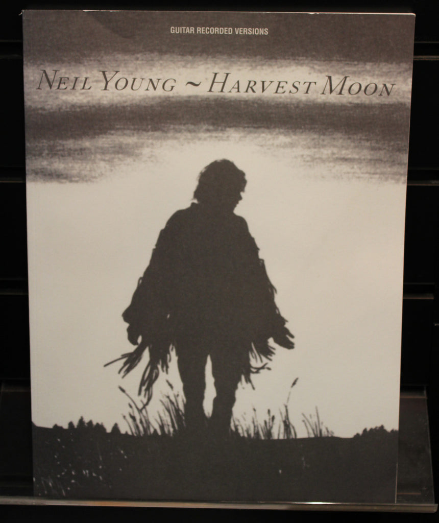 Neil Young Harvest Moon Guitar Recorded Versions Softcover Tab