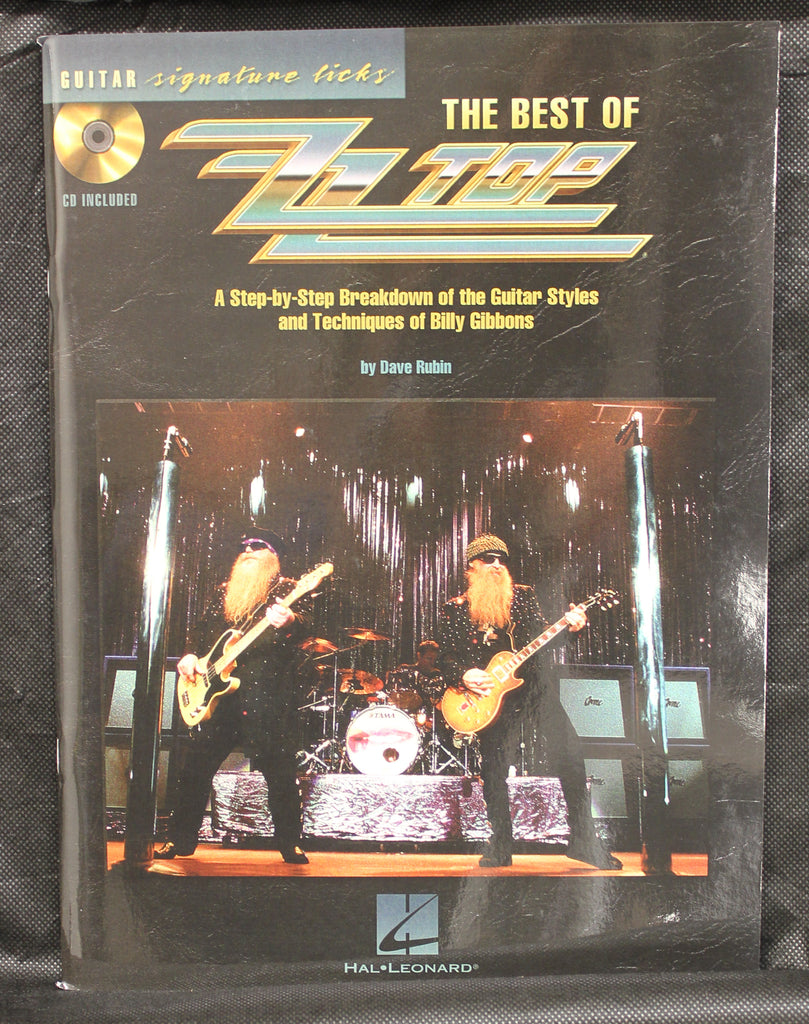 The Best of ZZ Top Signature Licks Guitar TAB Songbook