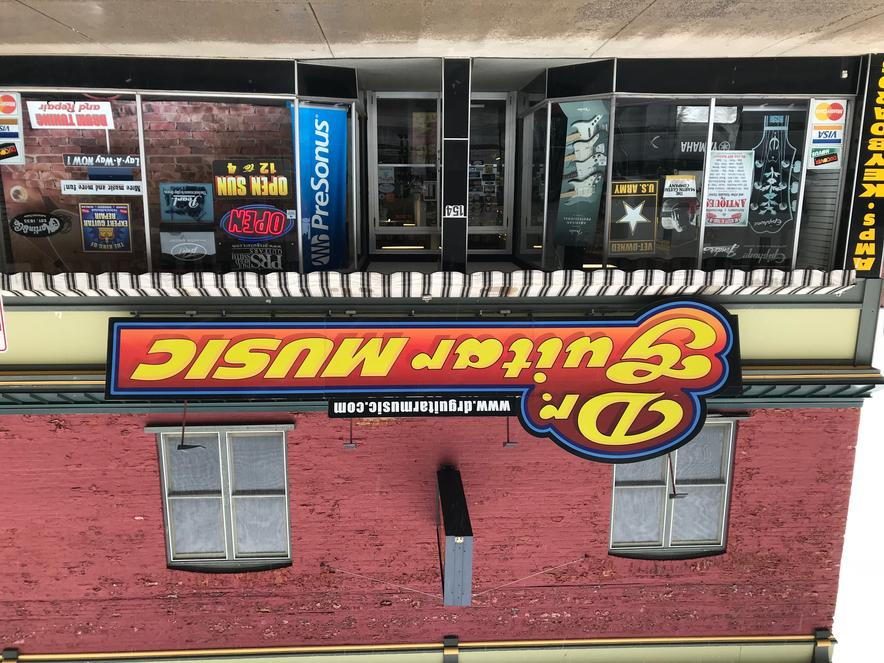 Dr  Guitar Music, Guitars, Amps, Keyboards, Drums, Watertown, NY