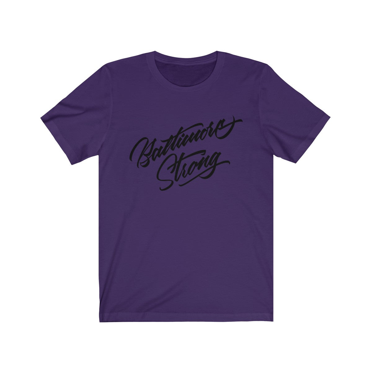 Baltimore Strong Short Sleeve Tee-Light
