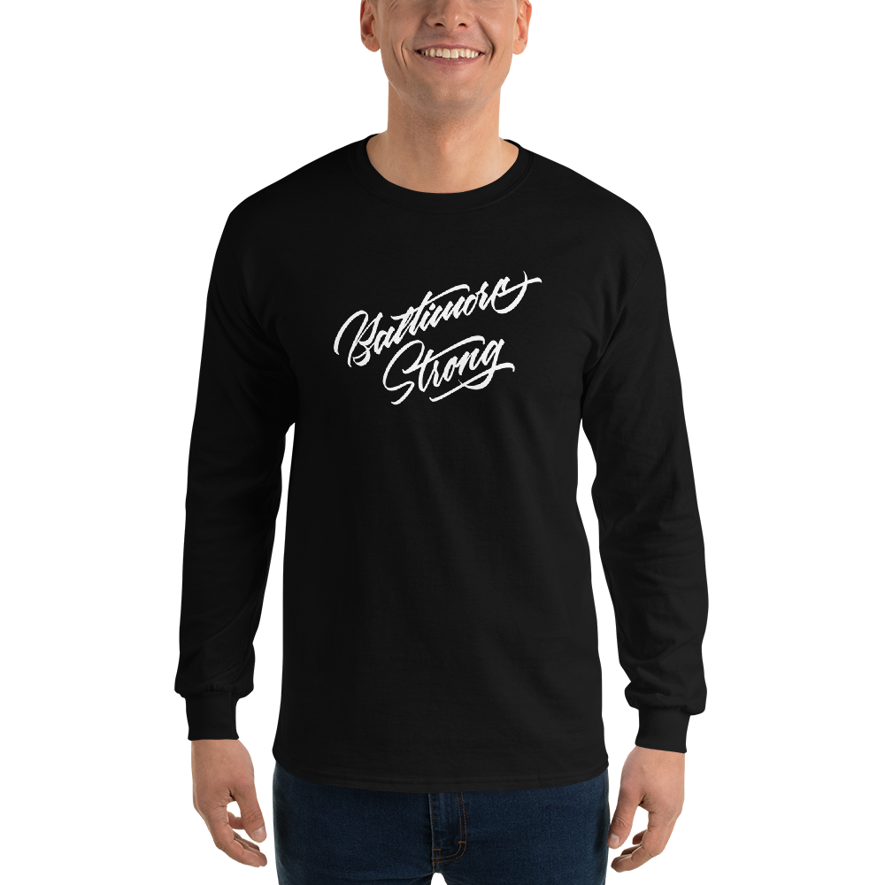 Baltimore Strong Long Sleeve T-Shirt