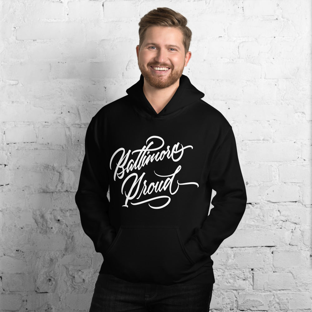 Baltimore Proud Men's Hooded Sweatshirt