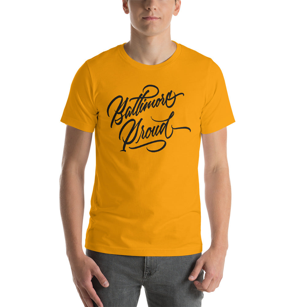 Baltimore Proud Short-Sleeve Unisex T-Shirt (Light)
