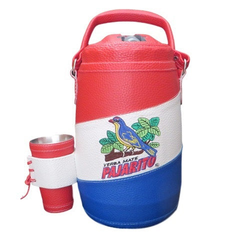 2 Litre Soprano Red/Blue/White Cold Flask