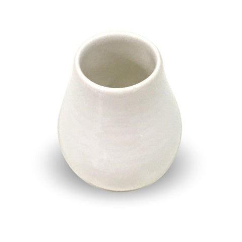 White Ceramic Mate Cup