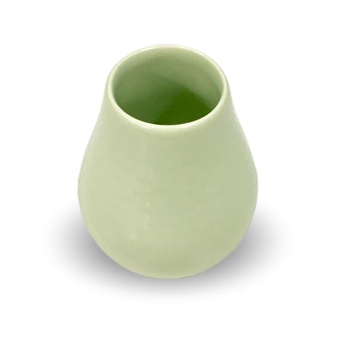 Green Ceramic Mate Cup