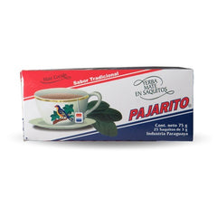10x Boxes plain Pajarito tea bags