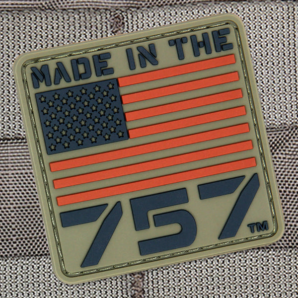 s&s precision made in the 757 morale patch