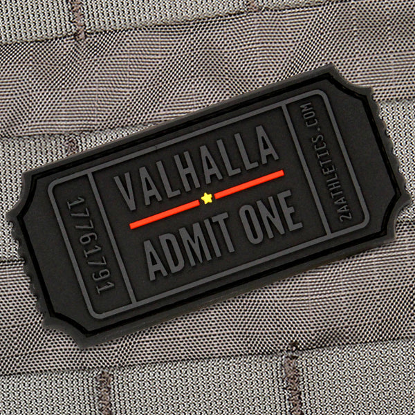 thin red line valhalla admit one morale patch