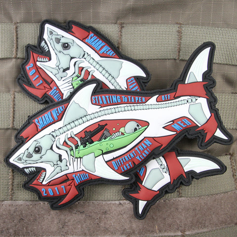 Shark Week 2017 Limited Edition Morale Patch