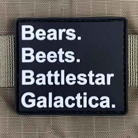 Bears Beets Battlestar Galactica Morale Patch