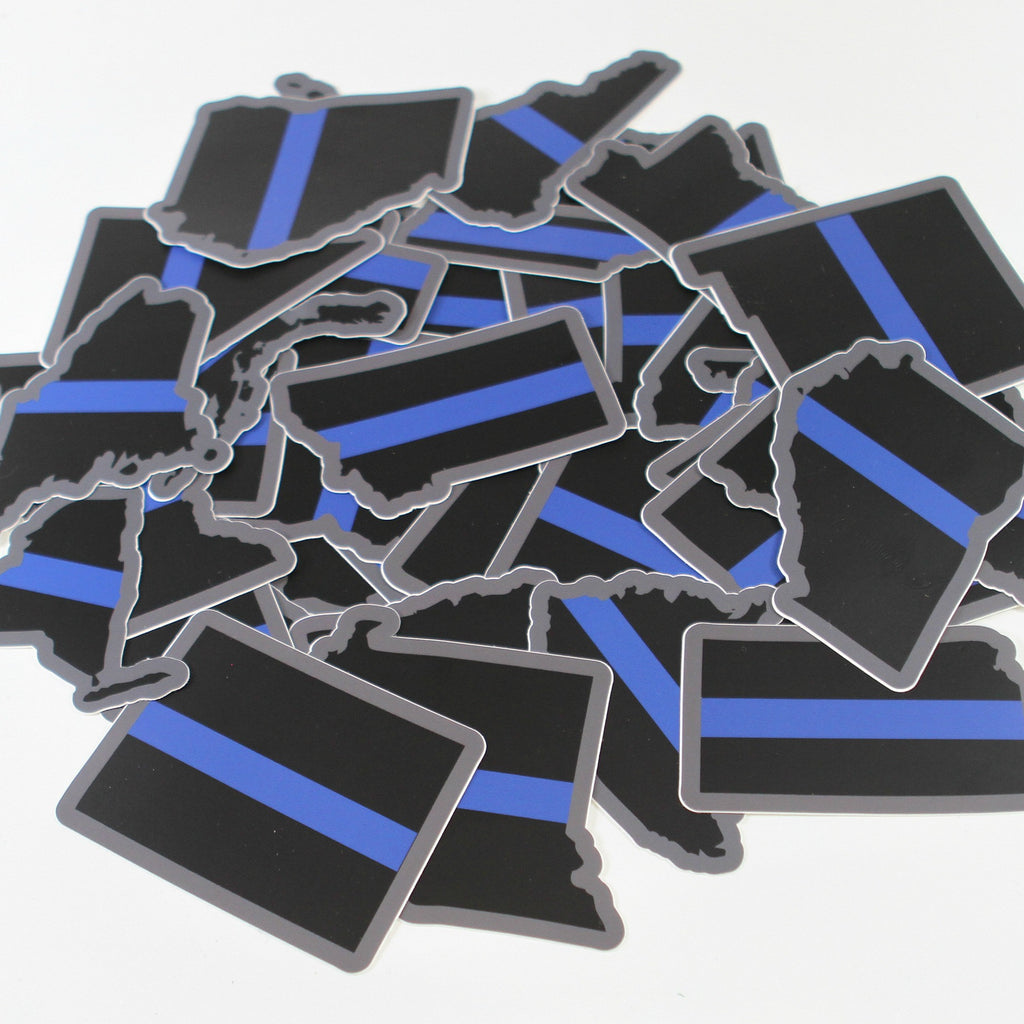 Thin Blue Line State Stickers Wiring Diagrams Generator With Variable Duty Cycle Circuit Diagram Tradeoficcom Every In Sticker Series Violent Little Rh Violentlittle Com Spartan