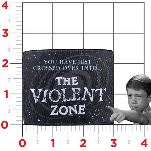 """The Violent Zone"" Patch"