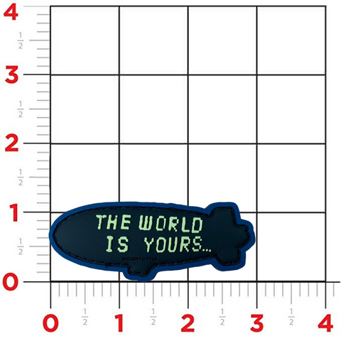 'The World Is Yours' Blimp Morale Patch