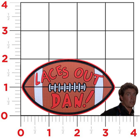 """Laces Out, Dan!"" Ace Ventura Patch"