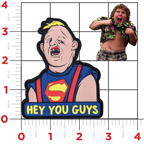 """Hey You Guys"" Goonies PVC Patch"