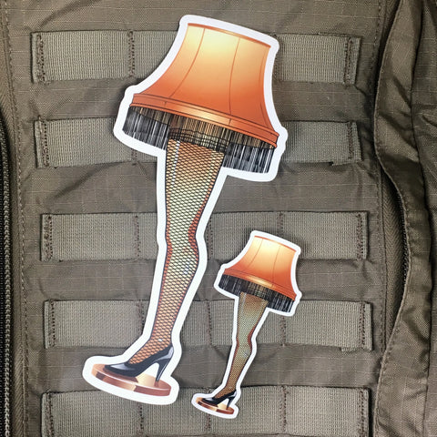 Fragile Leg Lamp Sticker