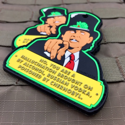 "Bill Murray ""You Are A Hallucination"" Christmas Morale Patch"