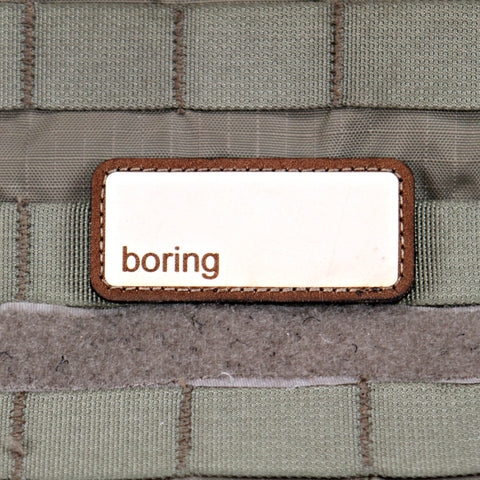 Boring Limited Edition Morale Patch