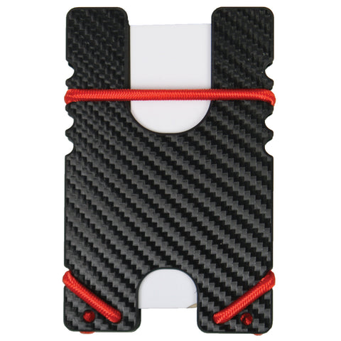 Kydex Shock Wallet -Black Carbon Fiber