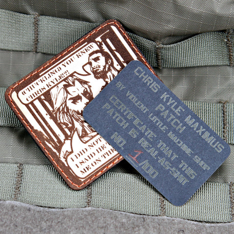 Chris Kyle Maximus Morale Patch