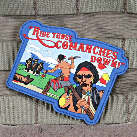 ride those comanches down morale patch