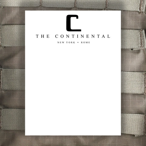 The Continental Hotel - John Wick Notepad