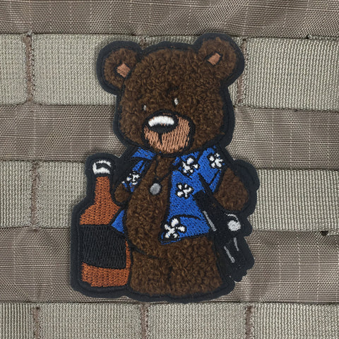 Creasy Bear Chenille Morale Patch