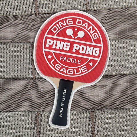 Ding Dang Ping Pong Morale Patch