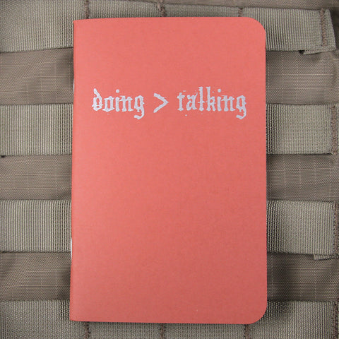 Doing >Talking Memo Books
