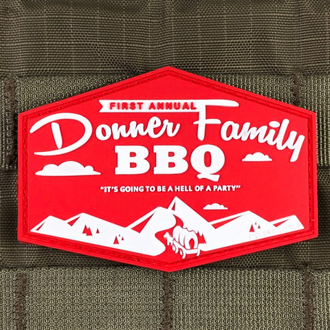 Donner Family BBQ Morale Patch